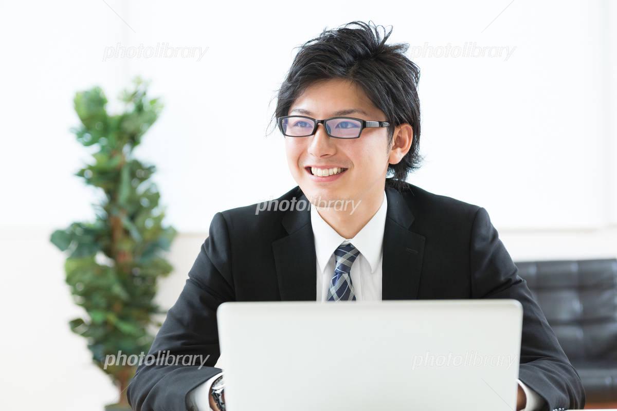 Businessman PC Photo
