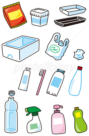 プラスチックごみ イラスト素材 2795014 フォトライブラリー