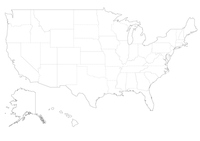Maps of the United States [2792116] America