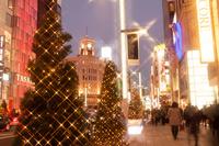 Christmas illuminations of Ginza Stock photo [2792888] Ginza