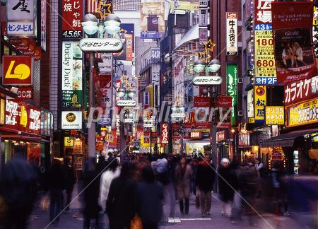 渋谷センター街-写真素材 渋谷センター街 画像ID 83581  渋谷センター街