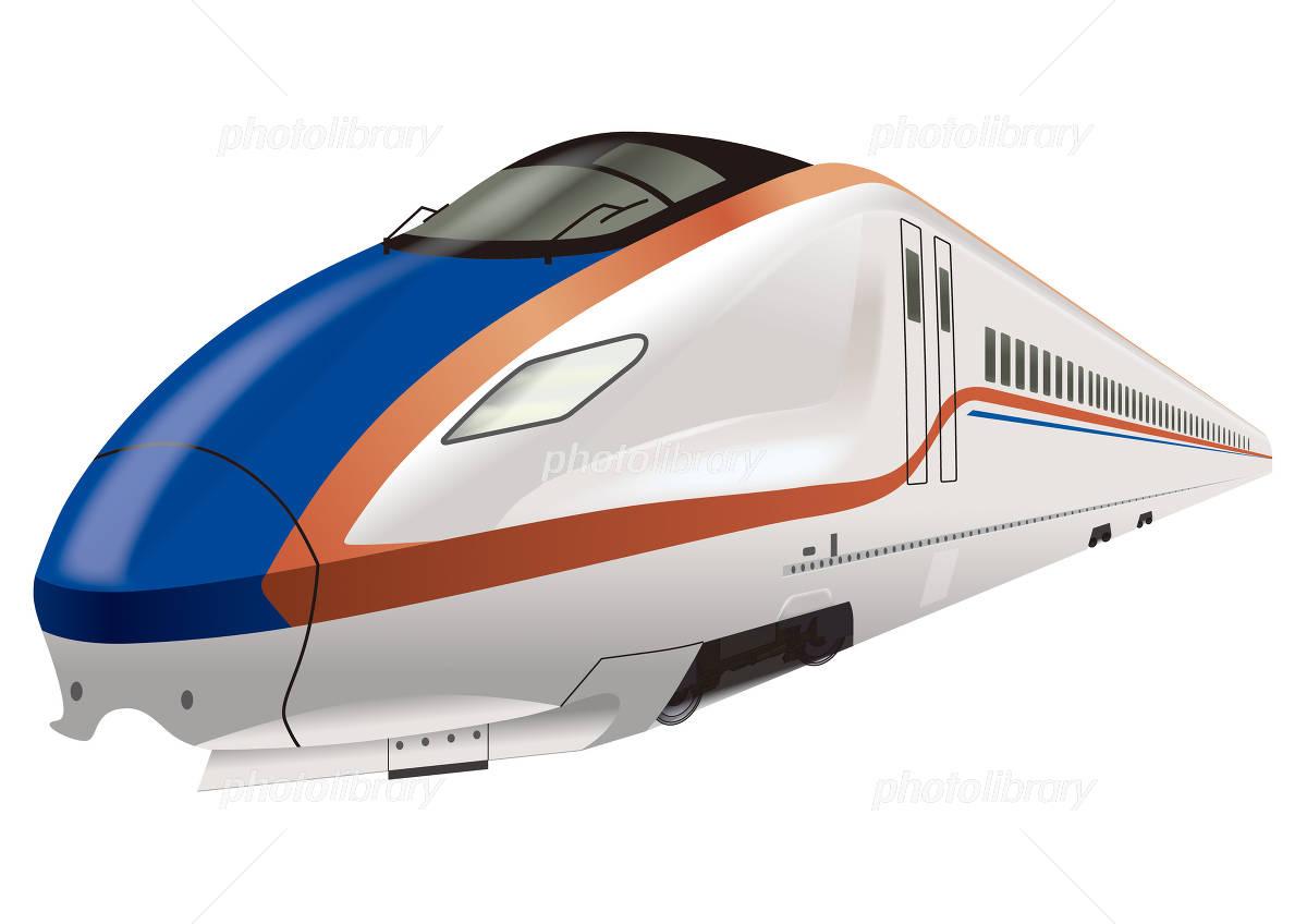Hokuriku Shinkansen イラスト素材
