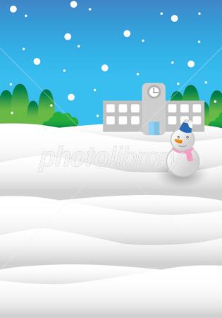 雪の風景イラスト イラスト素材 2881939 フォトライブラリー