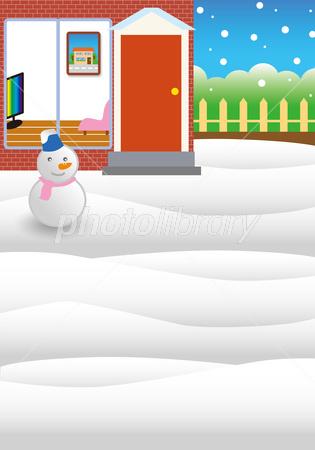 雪の風景イラスト イラスト素材 2882067 フォトライブラリー