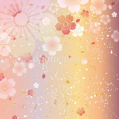 桜 和柄 イラスト素材 2882554 フォトライブラリー Photolibrary