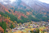 World heritage Shirakawa-go Stock photo [2872915] Autumn