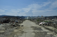 Great East Japan Earthquake affected areas in Miyagi Prefecture Minami Sanriku Stock photo [2873091] Japan