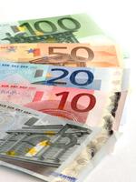 Euro banknote Stock photo [2874276] EUR