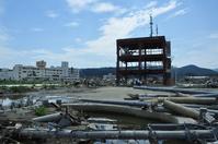 Minami Sanriku disaster prevention building trace Stock photo [2874370] Minami