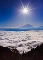 Sun and Fuji Stock photo [2875662] Mt.