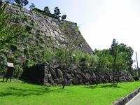Morioka Castle of Ishigaki Stock photo [2880303] Morioka