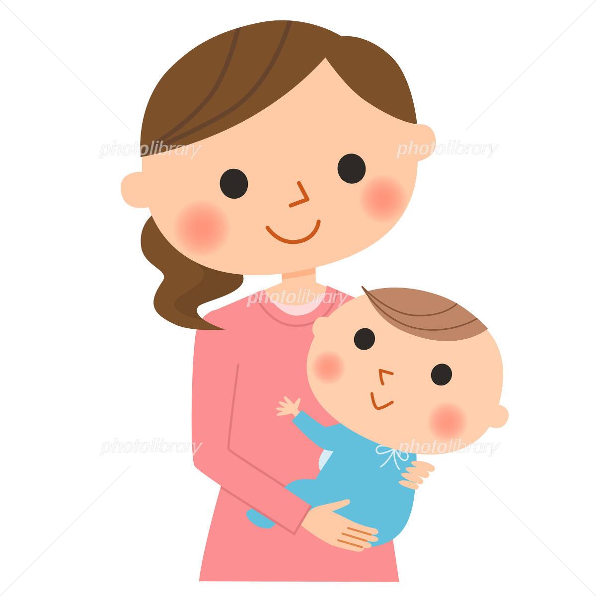 ママと赤ちゃん イラスト素材 2955932 フォトライブラリー