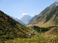 Kyrgyzstan, alpine Ishikuata Stock photo [2953817] Kirghiz