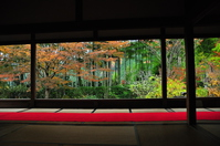 Autumn of Hohsen Institute Stock photo [2955229] Kyoto