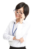 Short hair business woman Stock photo [2955875] Business