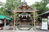Kyoto Mamoru-o shrine Chinowa the wicket Stock photo [2956095] Mamoru-o