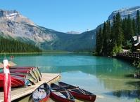 Canadian Rockies Emerald Lake Stock photo [2962001] Emerald