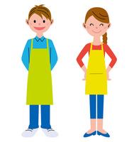 Men and women apron [2962776] Man
