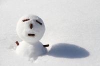 Snowman - twig Stock photo [2963844] Snow