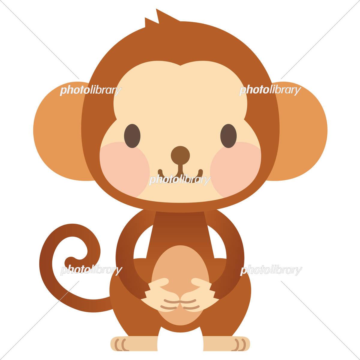 Animal monkey イラスト素材