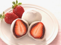 Strawberry Daifuku Stock photo [3038735] Strawberry