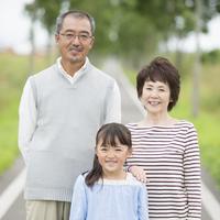 Smiling grandparents and grandchildren Stock photo [3039858] Husband