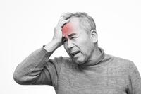 Head hurts men Stock photo [3041369] Man
