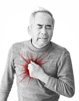 Image of heart attack Stock photo [3041384] Man