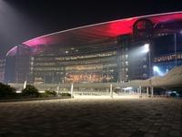 Romantic Dubai Meydan Racecourse Stock photo [3043524] Dubai