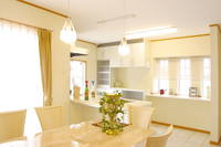 Residence of living dining image Stock photo [3046022] Living-dining