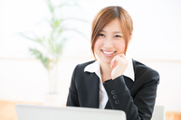 Business Woman PC Stock photo [3050567] Business