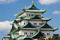Nagoya Castle shine in blue sky Stock photo [3051428] Japan