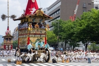 Kyoto Gion Festival Tsuji once stock photo