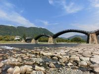 Kawahara of Nishiki River and Kintaikyo Stock photo [3125089] Nishiki
