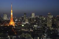 Tokyo Twilight Stock photo [3125279] Tokyo