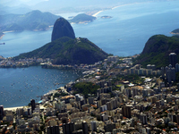 View from the Corcovado, which is registered as a World Heritage Site Stock photo [3125636] Brazil