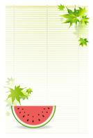 Landscape postcard size of summer [3129801] Summer