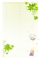 Landscape postcard size of summer [3129811] Summer