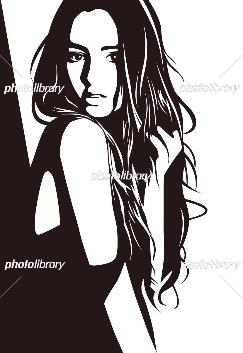 女性イラスト イラスト素材 3237508 フォトライブラリー Photolibrary