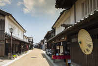 Old Tokaido, Sekiyado of landscape Stock photo [3231120] Mie