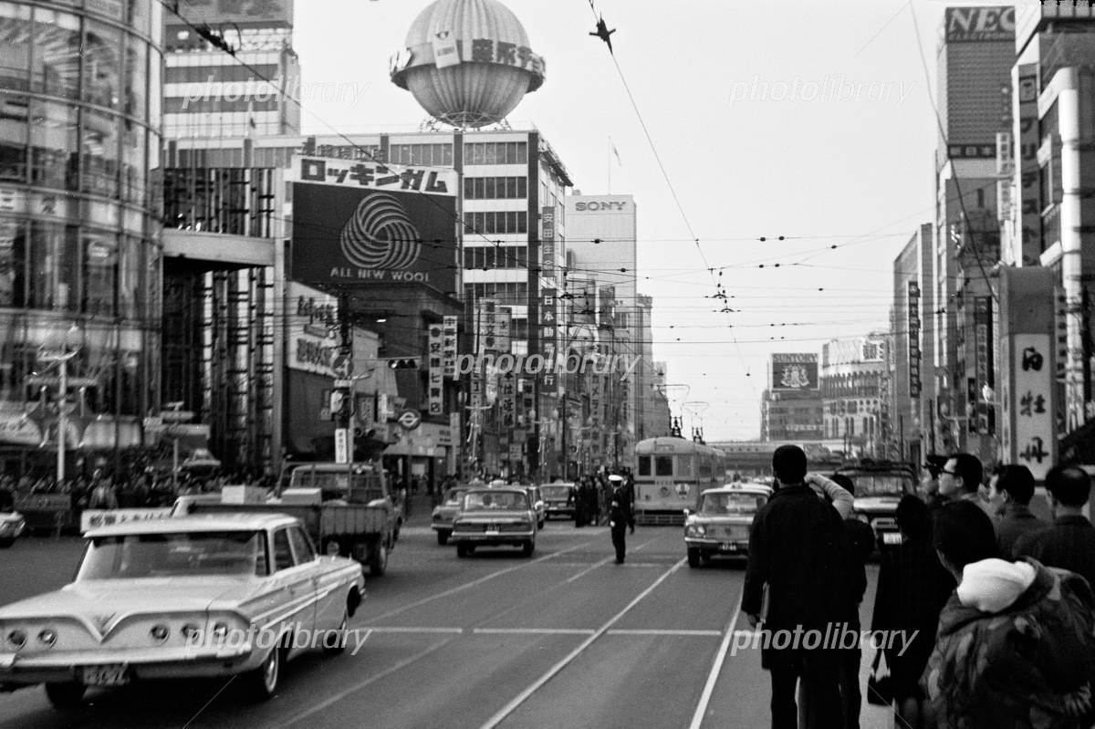 都電 銀座 1967年 写真素材 [ 3335312 ] - フォトライブラリー ...