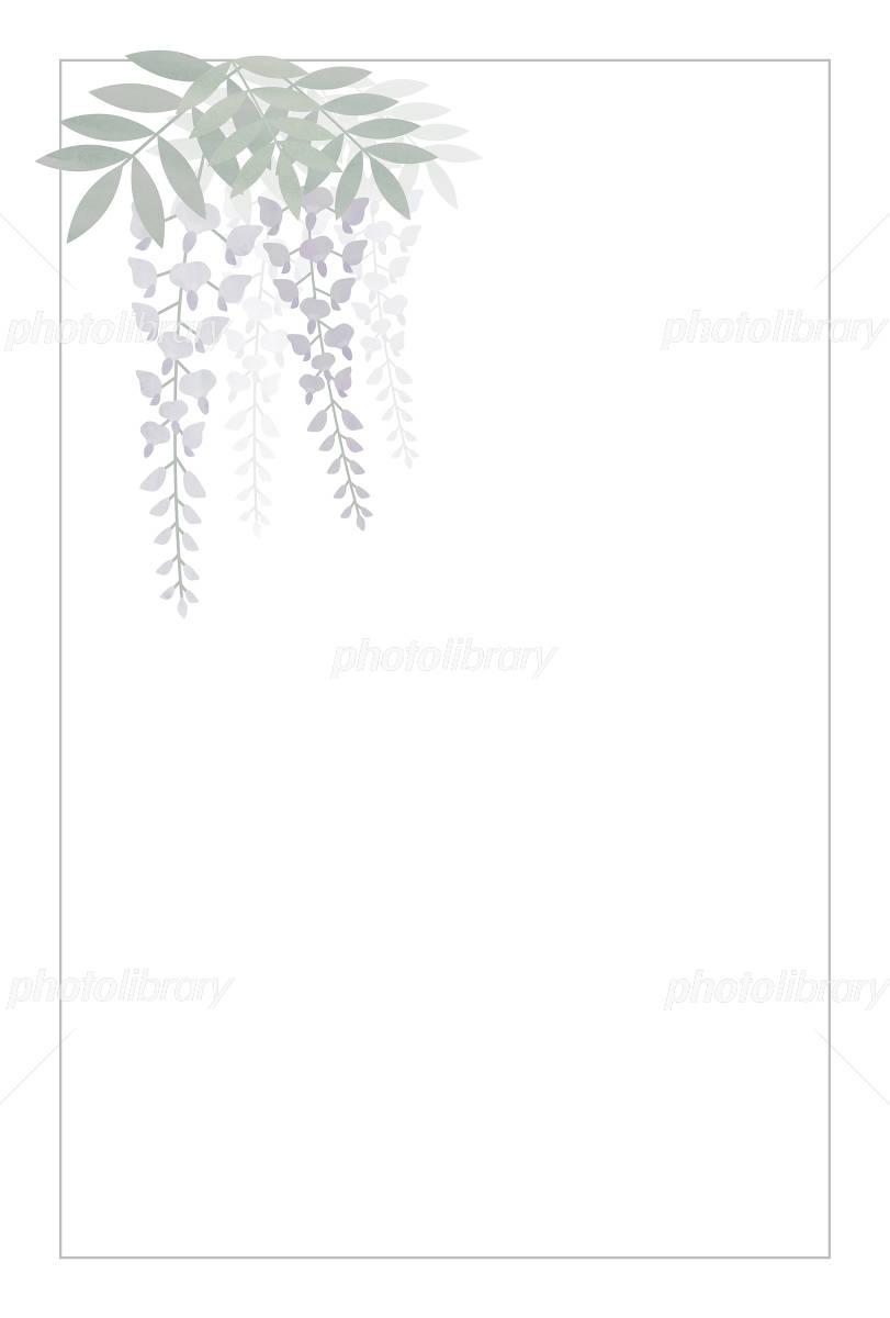 Fuji mourning postcard イラスト素材