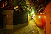 Night of Kagurazaka Stock photo [3328388] Kagurazaka