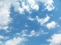 Clouds and blue sky Stock photo [3328776] Blue