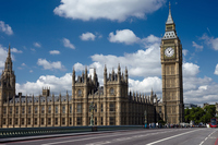 London Big Ben and the Palace of Westminster Stock photo [3329898] River