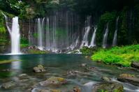 Shiraito falls Stock photo [3333908] World