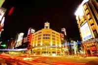 Night Ginza Stock photo [3334631] Ginza