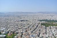 Athens skyline from Mount Lycabettus Stock photo [3336267] Greece