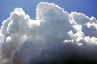 Summer clouds Stock photo [3337915] Blue