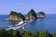 Sanshiro Island and Tombolo phenomenon Stock photo [3338868] Sanshiro